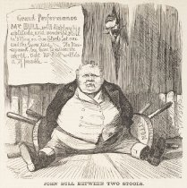Image of John Bull Between Two Stools - McLenan, John, 1827-1865